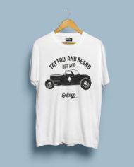 T-Shirt Mock-Up hot rod