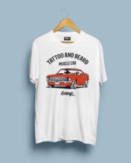 T-Shirt Mock-Up muscle car